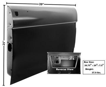 Picture of DOOR SHELL RH 66-67 : 3710 BRONCO 66-67
