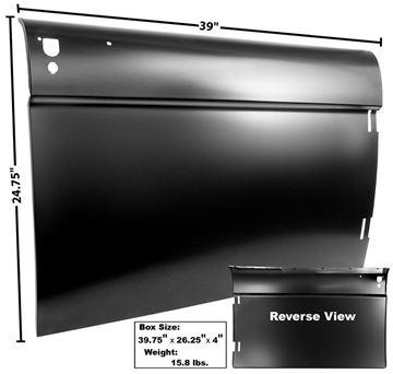 Picture of DOOR SKIN RH 1966 : 3711A BRONCO 66-66