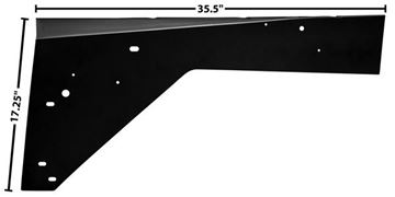 Picture of FENDER APRON LH 66-77 : 3699T BRONCO 66-77