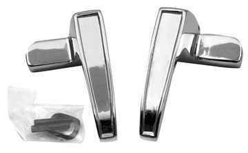 Picture of VENT WINDOW HANDLE 67 MUSTANG PAIR : M3529C BRONCO 66-67