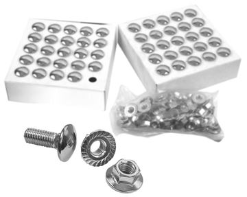 Picture of BUMPER BOLT BULK PACK 50PCS : 1049W CAMARO 67-73