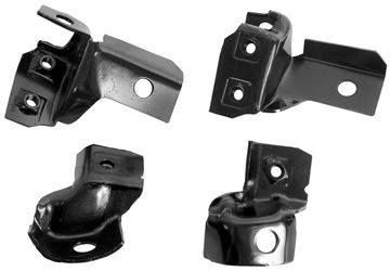Picture of BUMPER BRACKET REAR 69 4 PCS/SET : 1048Q CAMARO 69-69