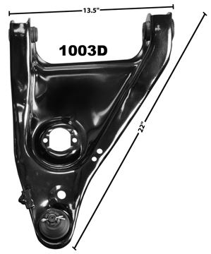 Picture of CONTROL ARM LOWER RH 1967-69 : 1003D CAMARO 67-69