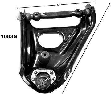 Picture of CONTROL ARM UPPER LH 1967-69 : 1003G CAMARO 67-69