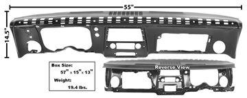 Picture of DASH PANEL COMPLETE 67 STEEL : 1068CA CAMARO 67-67