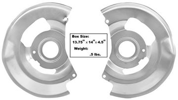 Picture of DISC BRAKE BACKING PLATE 77-81 : 1006M CAMARO 77-81