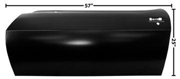 Picture of DOOR SKIN LH 70-73 : 1076S CAMARO 70-73
