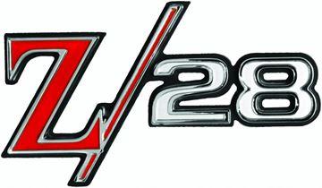 Picture of EMBLEM REAR EMBLEM Z-28 69 : EM6771 CAMARO 69-69