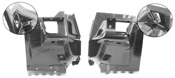 Picture of FIRE WALL BRACKET 70-73 PAIR : 1046S CAMARO 70-73