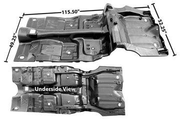 Picture of FLOOR & TRUNK PAN COMPLETE 70-73 : 1045YWT CAMARO 70-73