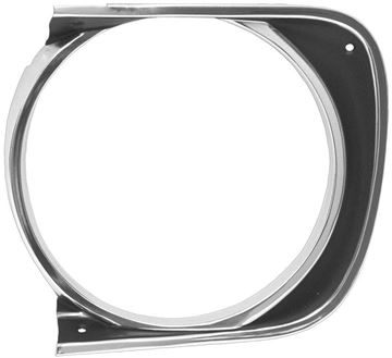 Picture of HEADLAMP BEZEL LH 67 STD : M1061 CAMARO 67-67