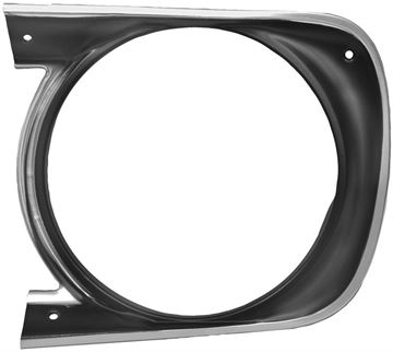 Picture of HEADLAMP BEZEL LH 68 STD : M1063 CAMARO 68-68