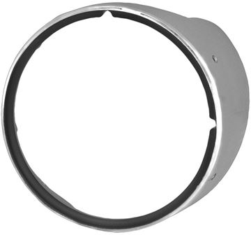 Picture of HEADLAMP BEZEL LH 69 STD W/CHROME : M1065 CAMARO 69-69