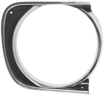 Picture of HEADLAMP BEZEL RH 67 STD : M1060 CAMARO 67-67
