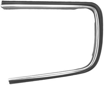 Picture of HEADLAMP COVER OPENING MOLDING LH : 1064Q CAMARO 67-68