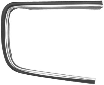 Picture of HEADLAMP COVER OPENING MOLDING RH : 1064P CAMARO 67-68