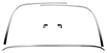 Picture of MOLDING WINDOW SET REAR 1970-74 : M1029G CAMARO 70-74