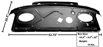 Picture of PACKAGE SHELF PANEL 70-73 : 1001H CAMARO 70-73