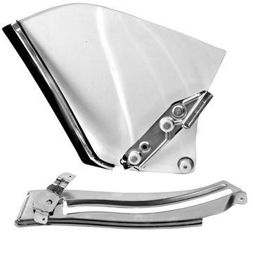 Picture of QUARTER WINDOW ASSEMBLY RH 68-69 : 1076J CAMARO 68-69