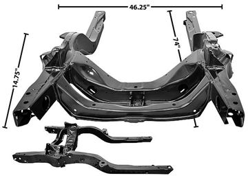 Picture of SUBFRAME 67 : 1000M CAMARO 67-67