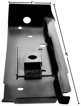 Picture of SUBFRAME MOUNTING BRACE LH 1967-69 : 1052L CAMARO 67-69