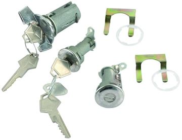 Picture of LOCK IGNITION & DOOR ORIGINAL : CL-1511C CHALLENGER 72-74