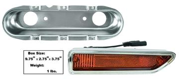 Picture of MARKER LAMP/FRONT RH 70-71 AMBER : L80 CHALLENGER 70-71