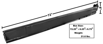 Picture of ROCKER PANEL RH 70-74 CHALLENGER : 6072 CHALLENGER 70-74