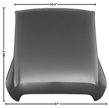 Picture of ROOF PANEL 70-74 CHALLENGER : 6053 CHALLENGER 70-74