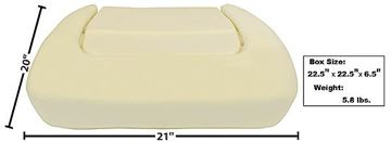 Picture of SEAT BOTTOM CUSHION 70-74 : 6029A CHALLENGER 70-74