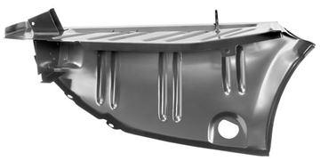 Picture of TRUNK FLOOR DROP OFF LH 70-74 : 6082BWT CHALLENGER 70-74