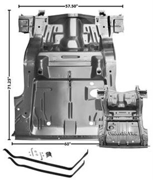 Picture of TRUNK FLOOR PAN 70 CHALLENGER : 6000 CHALLENGER 70-74