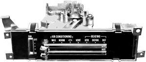 Picture of A/C & HEATER CONTROL 68-72 : 1456 CHEVELLE 71-72