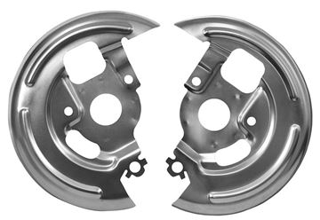 Picture of BRAKE BACKING PLATE 1969 PAIR : 1006G CHEVELLE 68-72