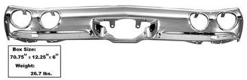 Picture of BUMPER REAR 71-72 : 1460MX CHEVELLE 71-72