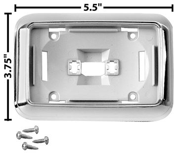 Picture of DOME LIGHT BASE 68-70 : M1440D CHEVELLE 68-70