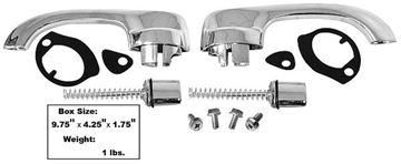 Picture of DOOR HANDLE KIT CHEVELLE 1964-67 : M1390WB CHEVELLE 64-67