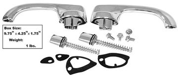 Picture of DOOR HANDLE KIT CHEVELLE 1970-72 : M1392WB CHEVELLE 70-72