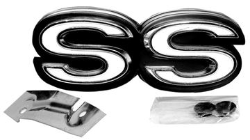 Picture of EMBLEM GRILLE SS 70 : EM1303 CHEVELLE 70-70