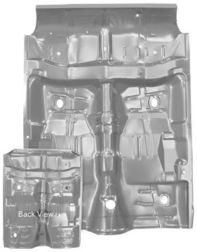 Picture of FLOOR PAN COMPLETE 64-67 : 1462WWT CHEVELLE 64-67