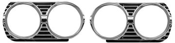 Picture of HEADLAMP BEZEL 1965 PAIR : M1384A CHEVELLE 65-65