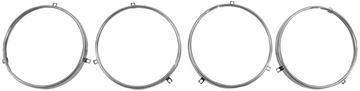 Picture of HEADLAMP RING SET OF 4 PICKUP 58-61 : LH31 CHEVELLE 64-70