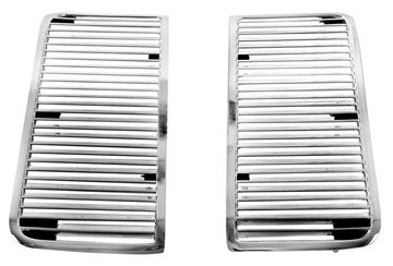 Picture of HOOD LOUVER 1969 PAIR : M1379 CHEVELLE 69-69