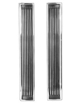 Picture of HOOD LOUVER 67 PAIR : 1468E CHEVELLE 67-67