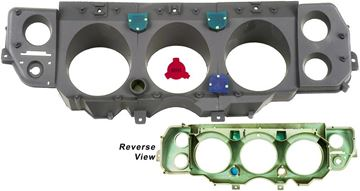 Picture of INSTRUMENT HOUSING 71-72 SS 3PCS : 1452E CHEVELLE 71-72