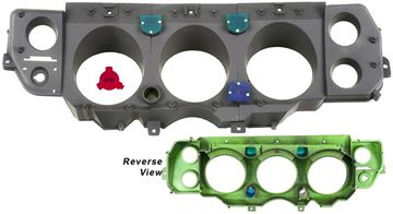 Picture of INSTRUMENT HOUSING KIT 70 SS 3PCS : 1452D CHEVELLE 70-70