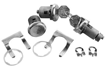Picture of LOCK KIT IGNITION/DOOR : 142A CHEVELLE 64-64