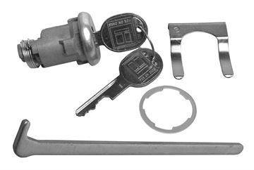 Picture of LOCK KIT TRUNK LATER : 1575 CHEVELLE 64-82