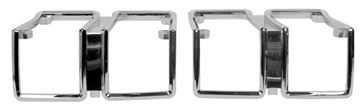 Picture of PARK LAMP BEZEL 71 CHEVELLE PAIR : L71AZ CHEVELLE 71-71