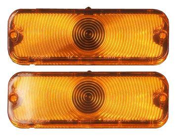 Picture of PARK LAMP LENS 66 PAIR : L66N CHEVELLE 66-66